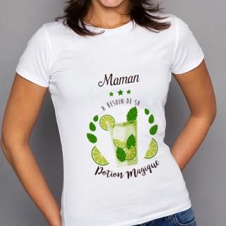 T-shirt Potion Magique Maman