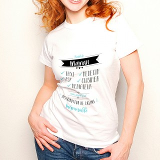 T-shirt Boulot de Maman