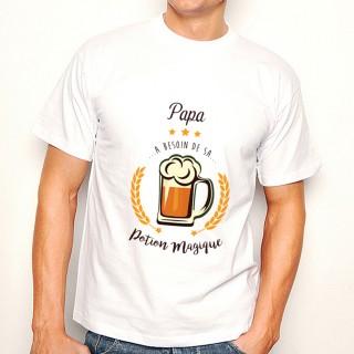 T-shirt Potion magique Papa