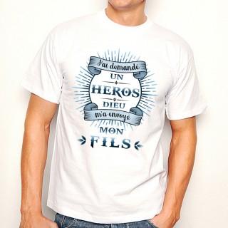 T-shirt HEROS Mon Fils