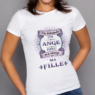 T-shirt ANGE Ma Fille