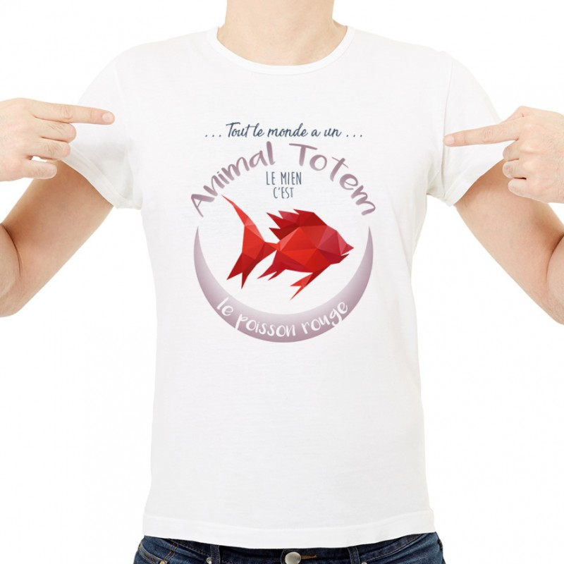 T-shirt TOTEM Poisson