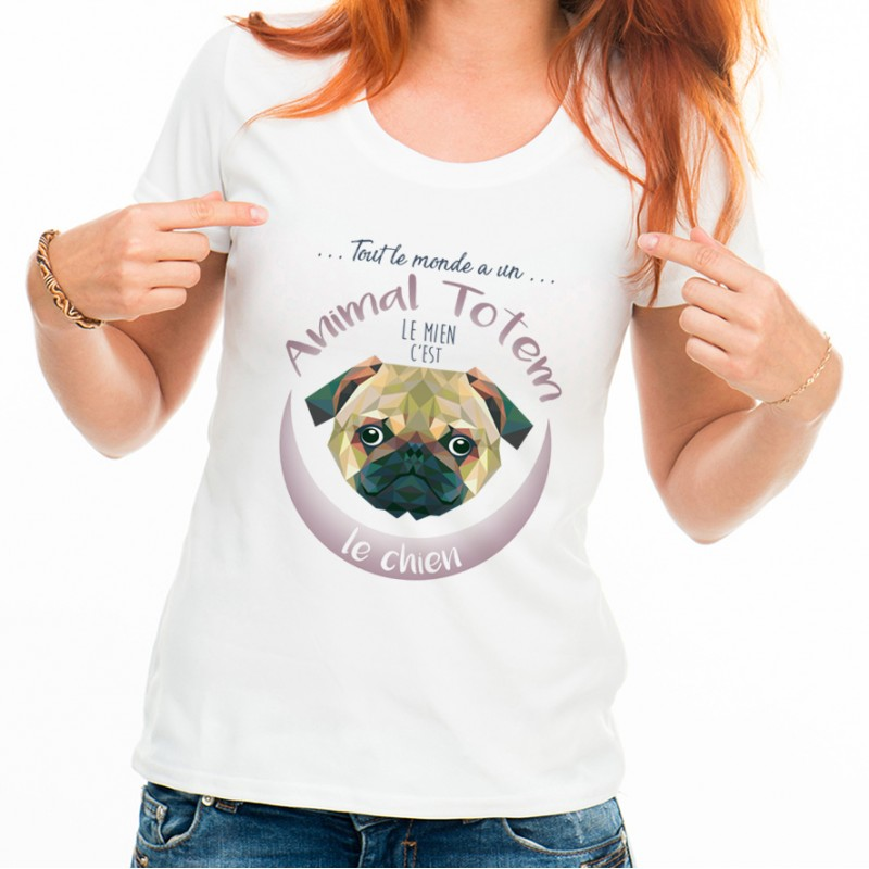 T-shirt TOTEM Chien