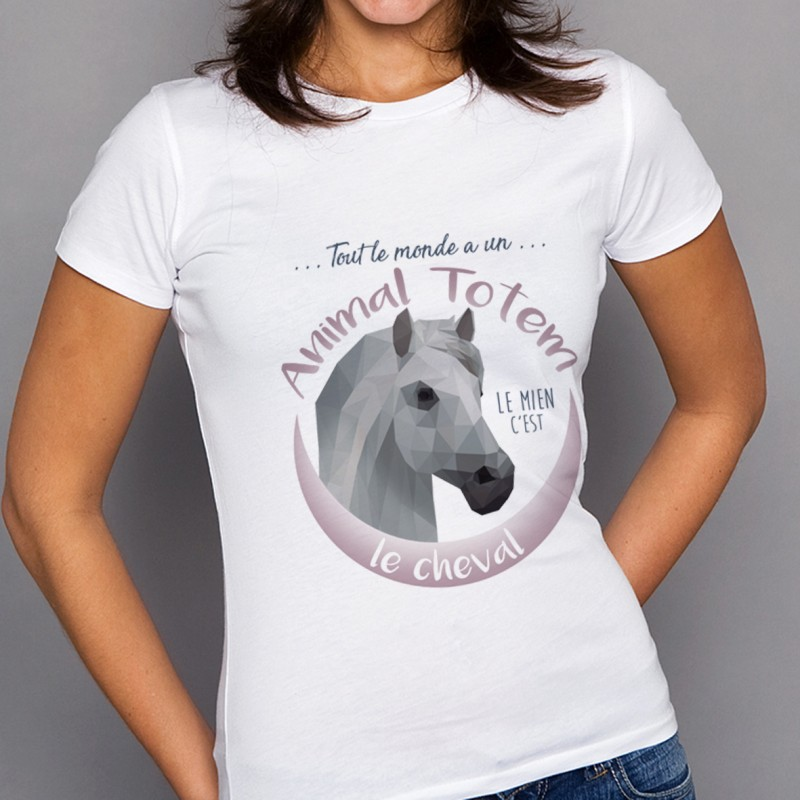 T-shirt TOTEM Cheval