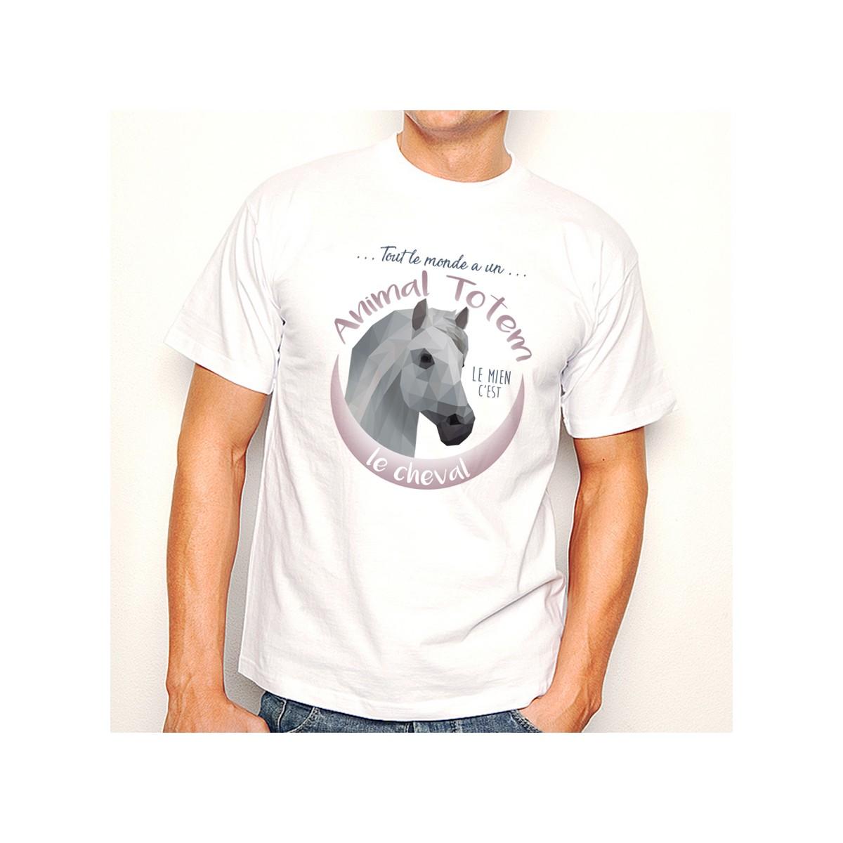 T-shirt TOTEM Cheval