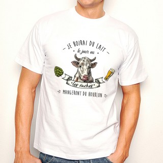 T-shirt Vaches Houblon