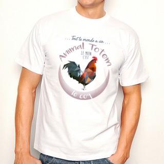 T-shirt TOTEM Coq