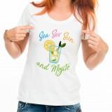 T-shirt Sea Sex Sun and Mojito