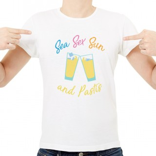 T-shirt Sea Sex Sun and Pastis