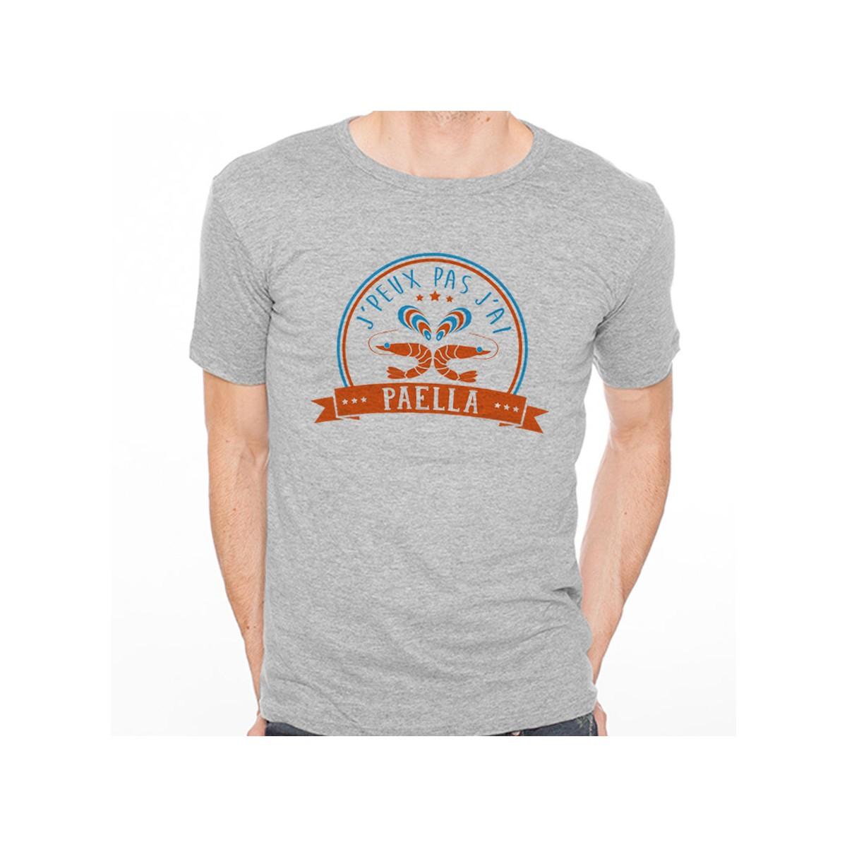 T-shirt J'peux pas j'ai...Paella