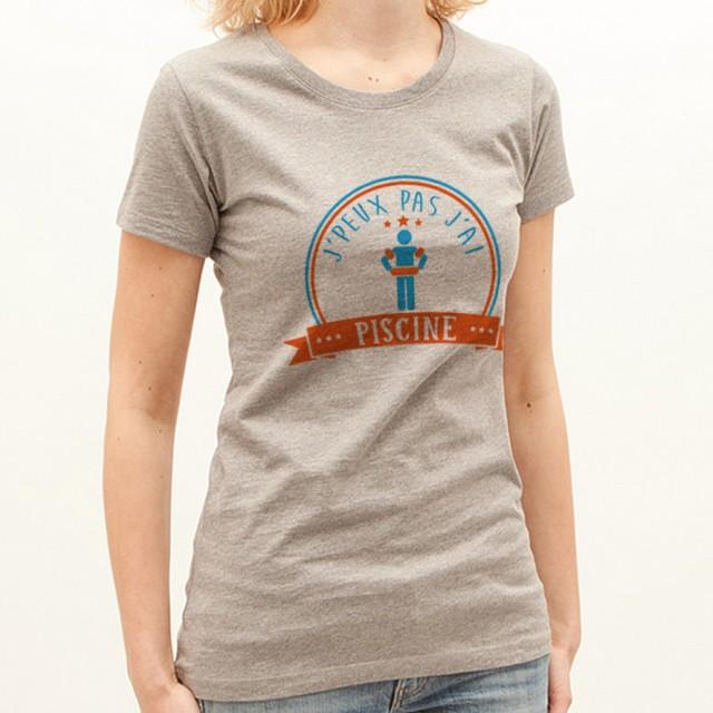 T-shirt J'peux pas j'ai...Piscine