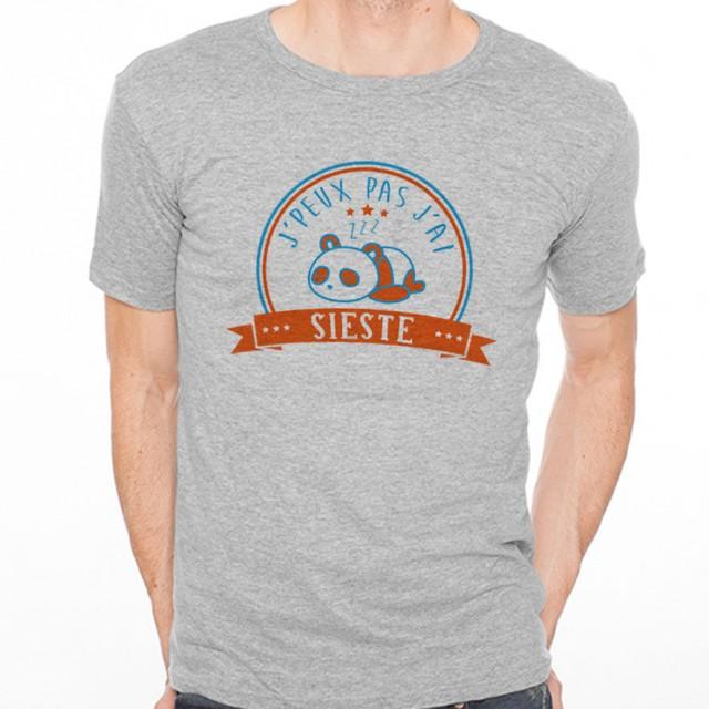 T-shirt J'peux pas j'ai...Sieste