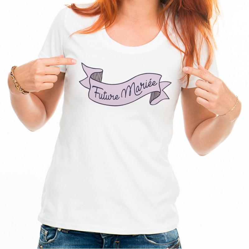 T-shirt Future Mariée