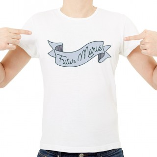 T-shirt Futur Marié